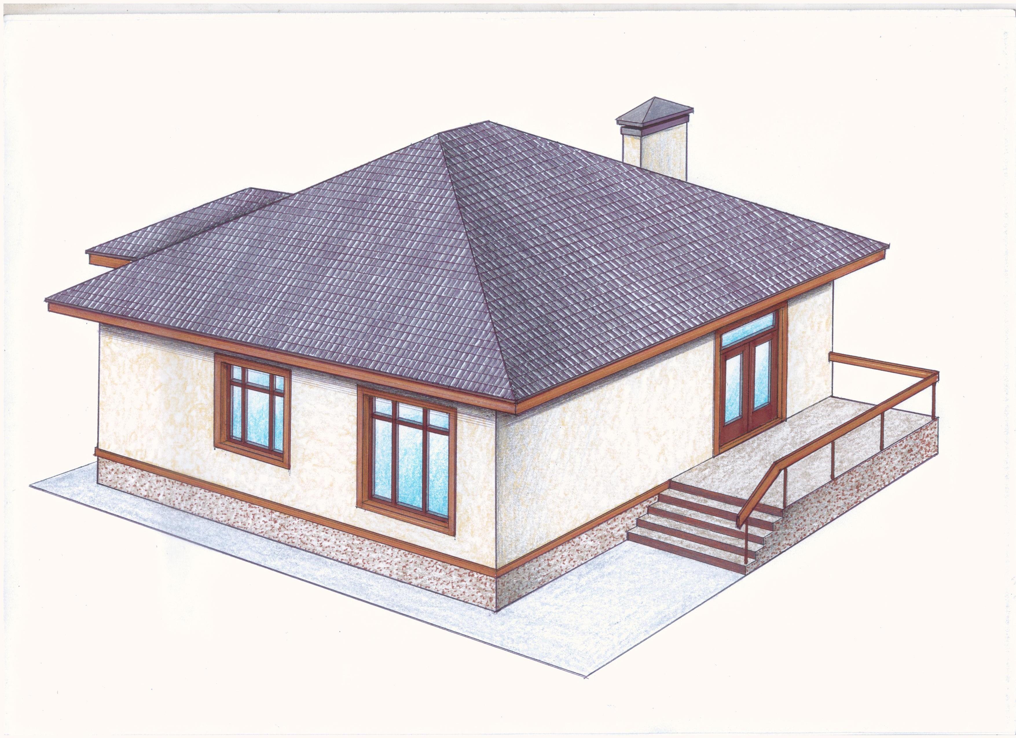 Проект Иж-390 фасад