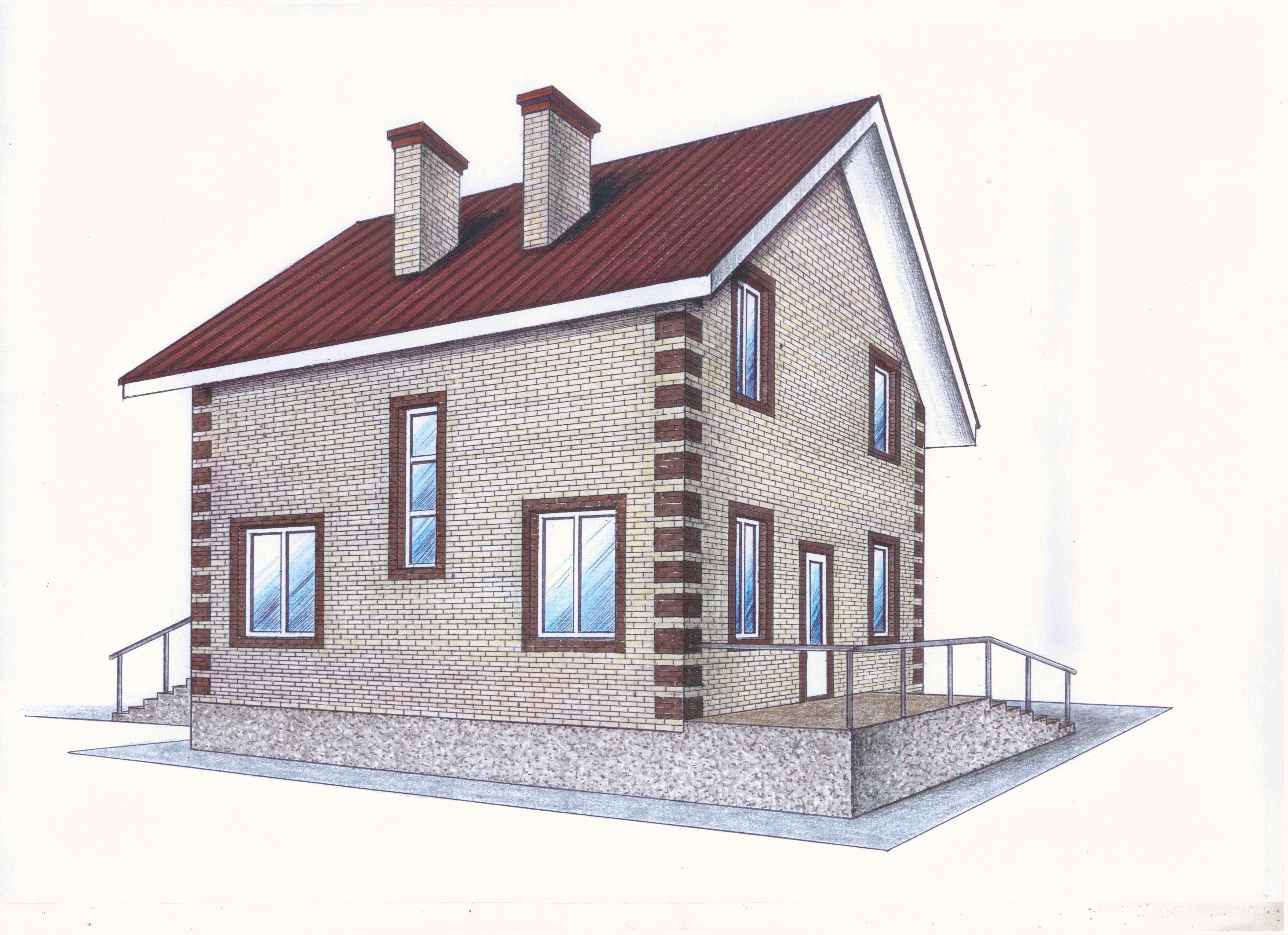 Проект Иж-391 фасад