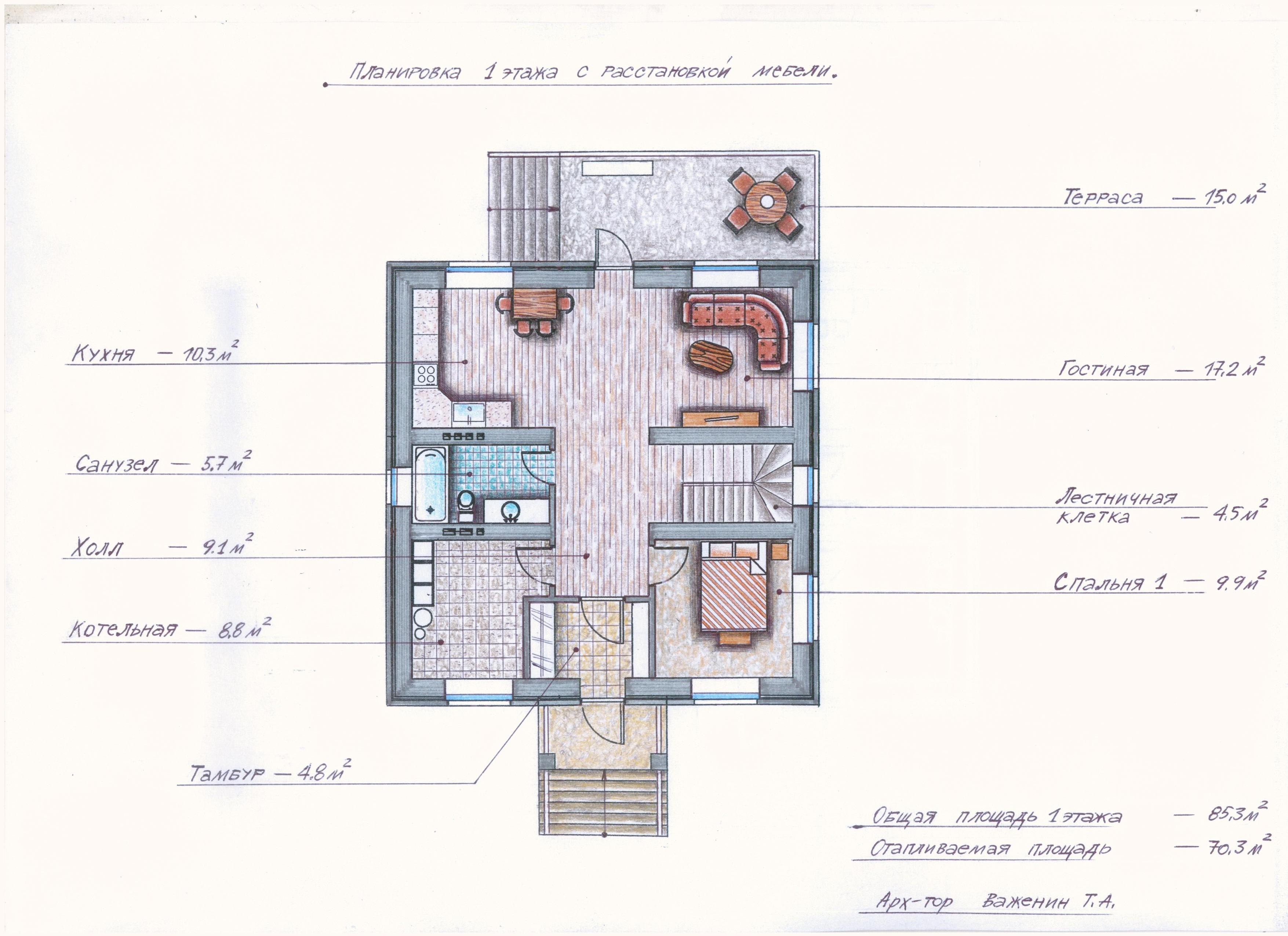 Проект Иж-391 план