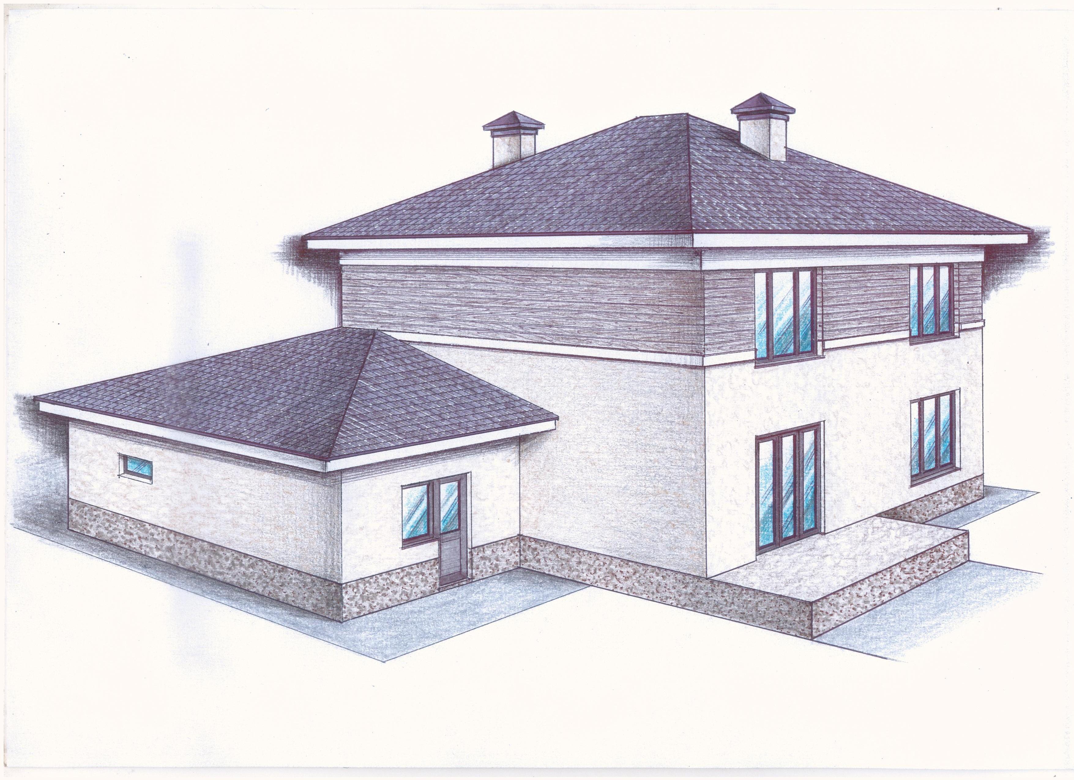 """Проект """"Иж-392"""" фасад"""