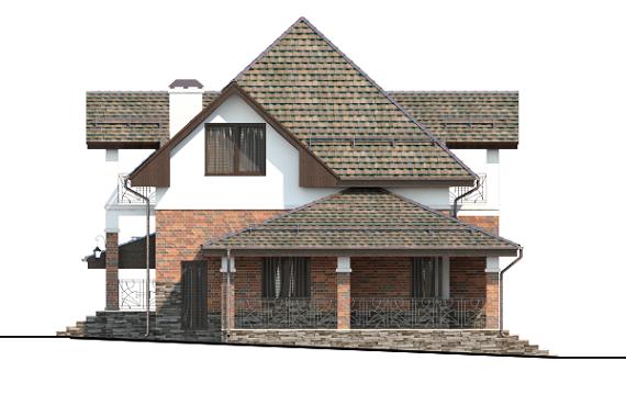 Проект Планнерс 017-144-1МГ фасад