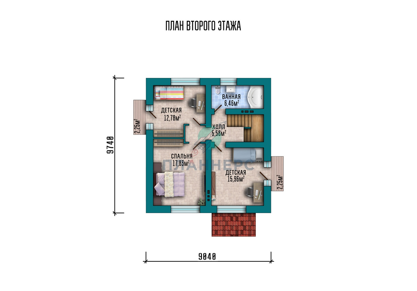 Проект Планнерс 003-116-1М план