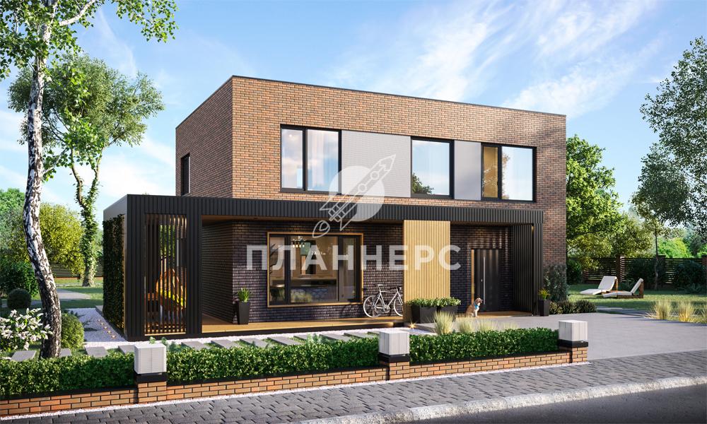 Проект Планнерс 058-163-2 фасад