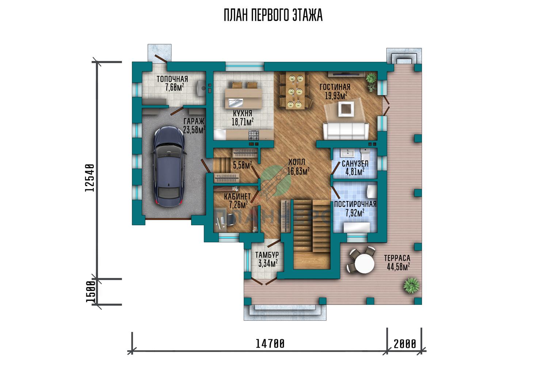 Проект Планнерс 064-219-2Г план