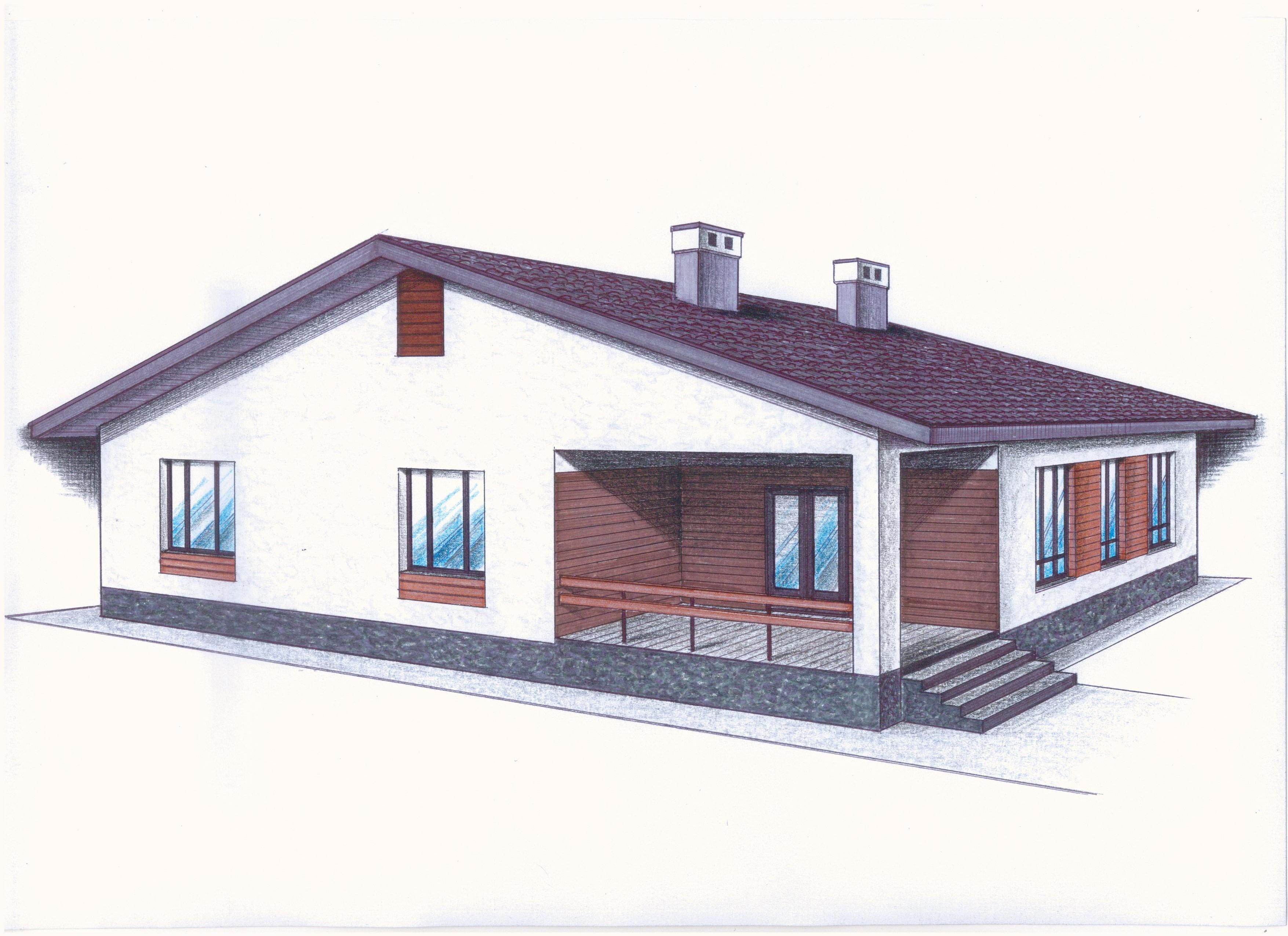 Проект Иж-413 фасад