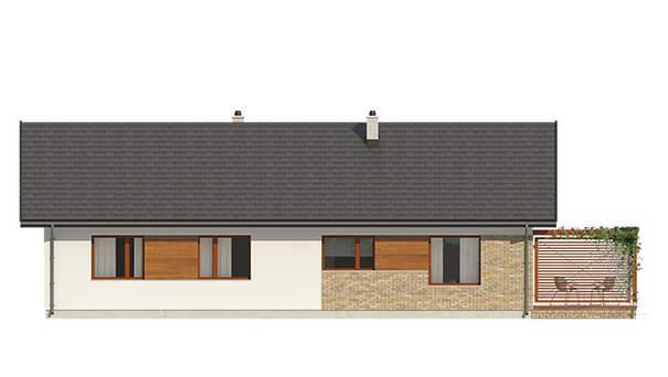 Проект дома 4m581 фасад