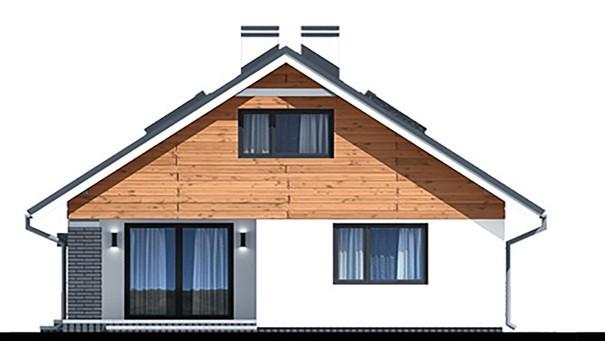 Проект дома 4m741 фасад