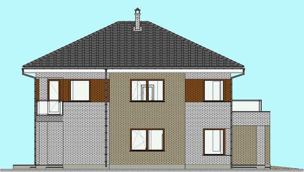 Проект дома 4m1462 фасад