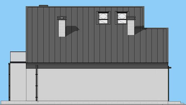 Проект дома 4m1461 фасад
