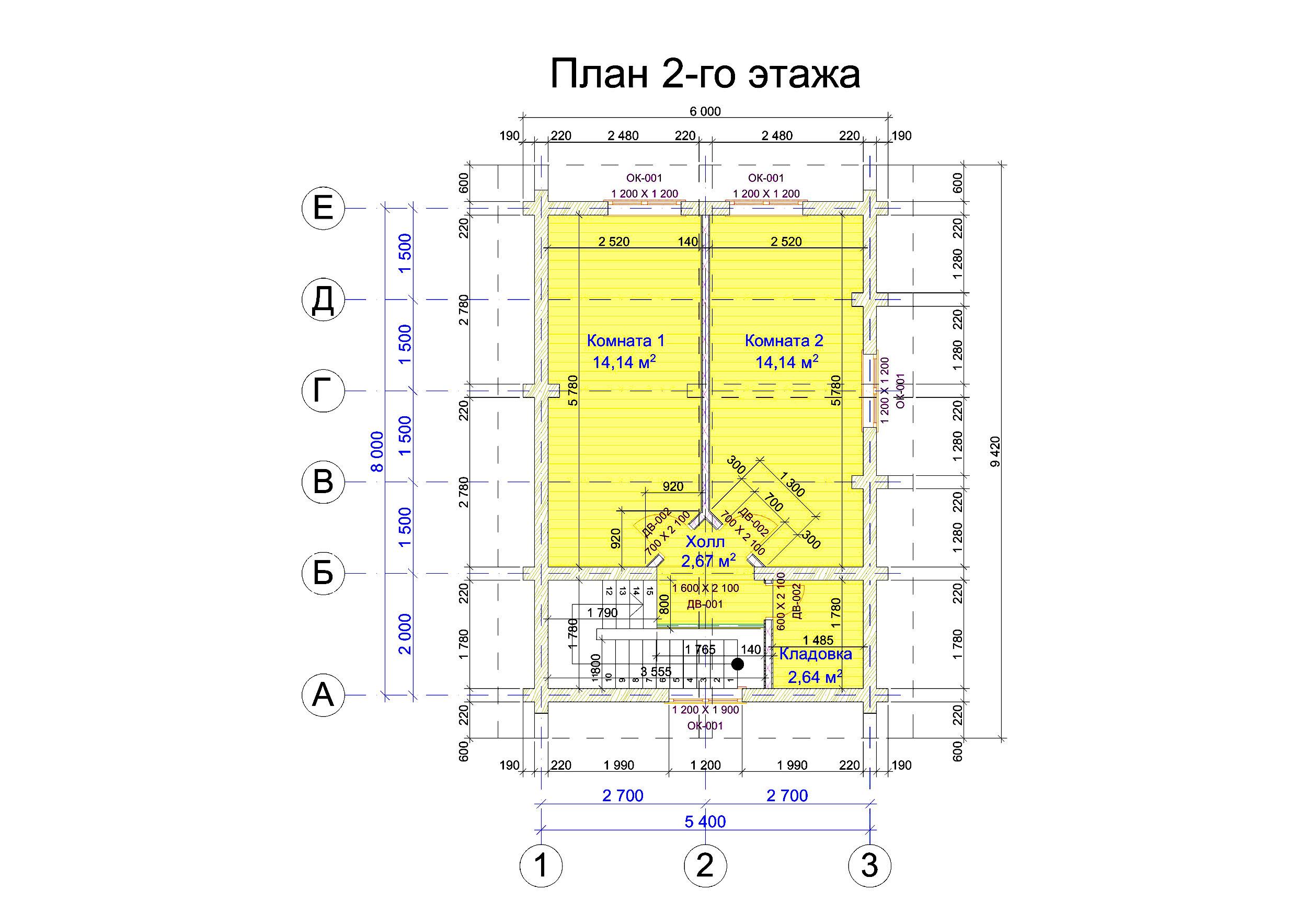 №10   S общ. –      73.6 м2 план