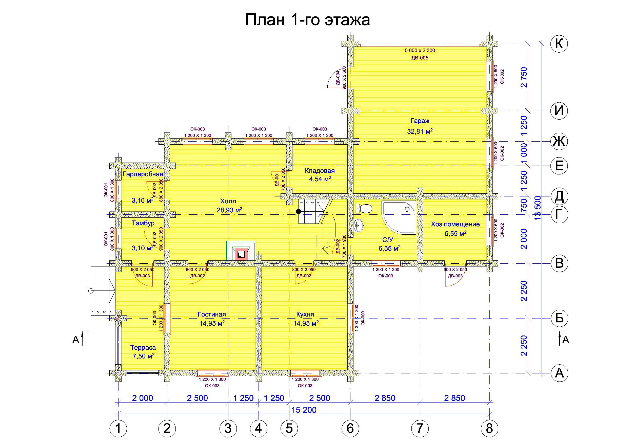 №12   S общая - 189,2 м2 план