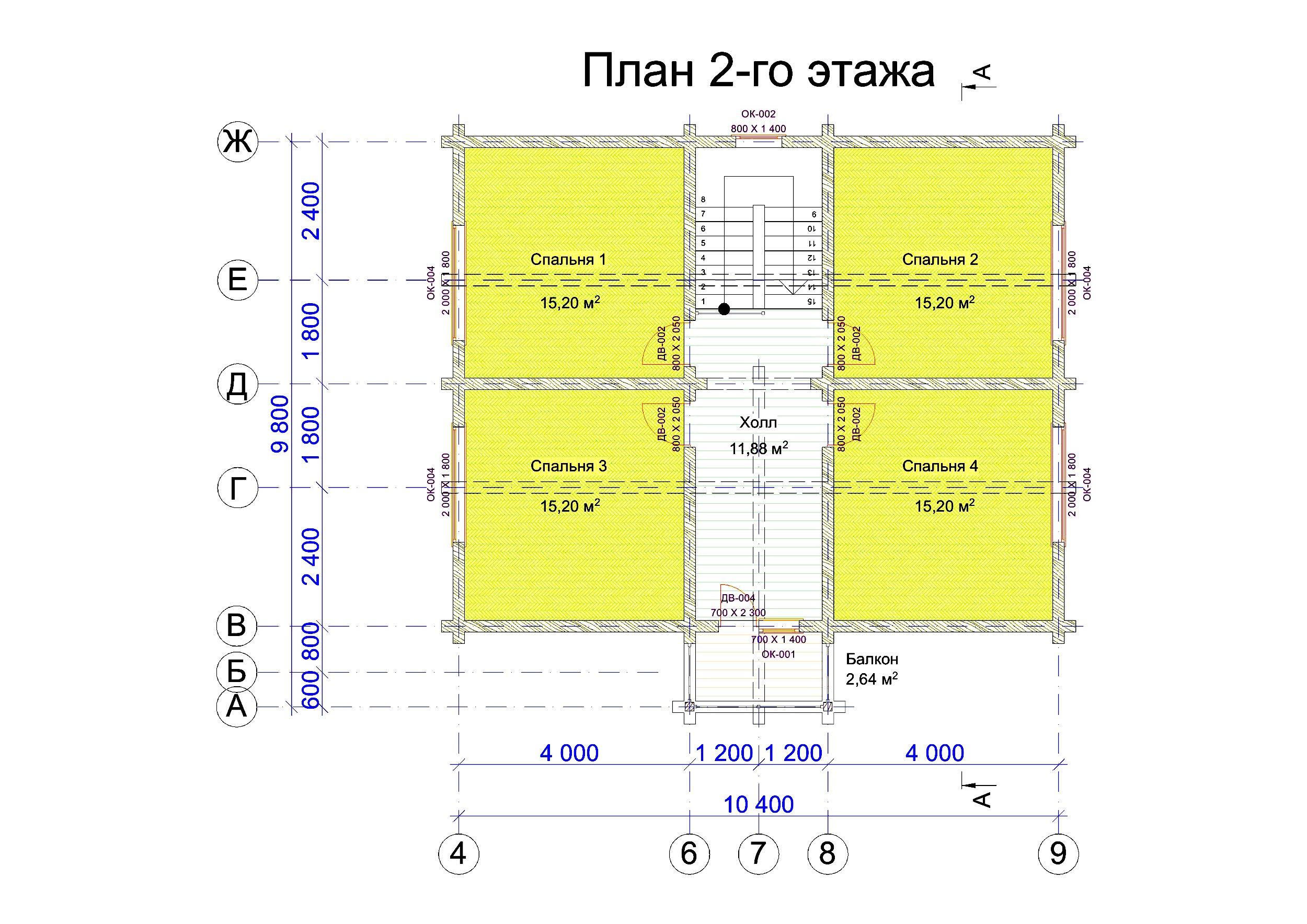 №13  S общая - 160,8 м2 план