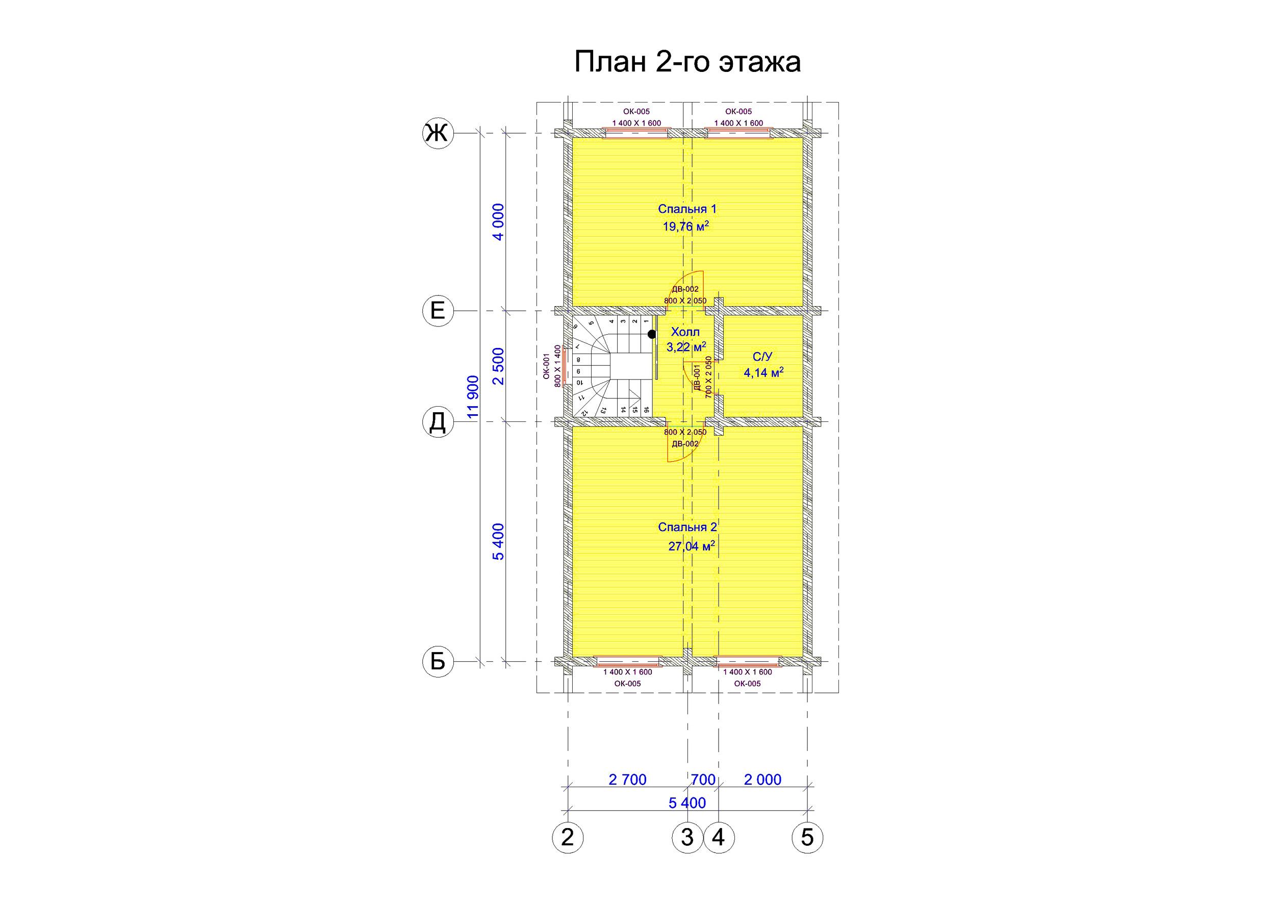 №19    S = 188.7 м2 план