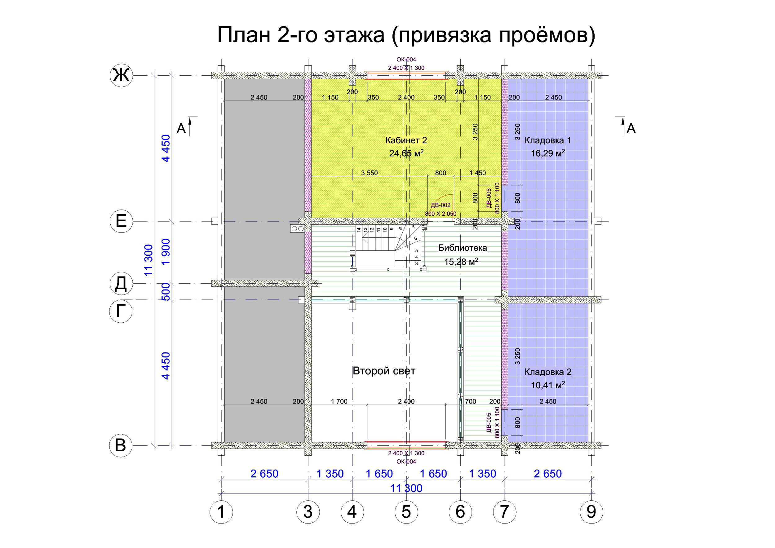 №21   S общая –   202.0 м2 план