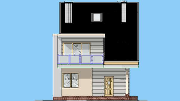 Проект дома 4m1466 фасад
