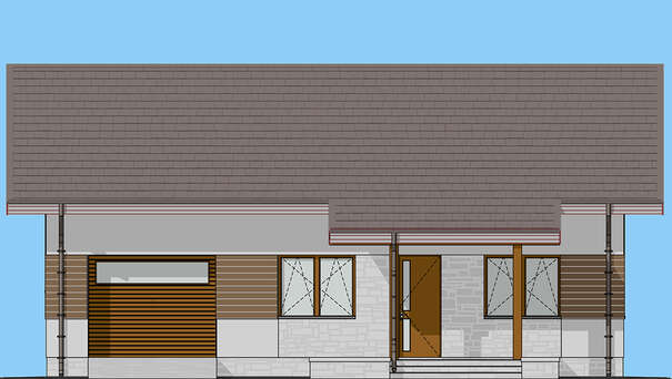 Проект дома 4m1467 фасад