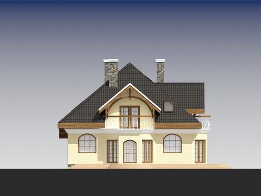 Проект дома 4m833 фасад