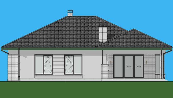 Проект дома 4m1469 фасад