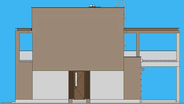 Проект дома 4m1471 фасад
