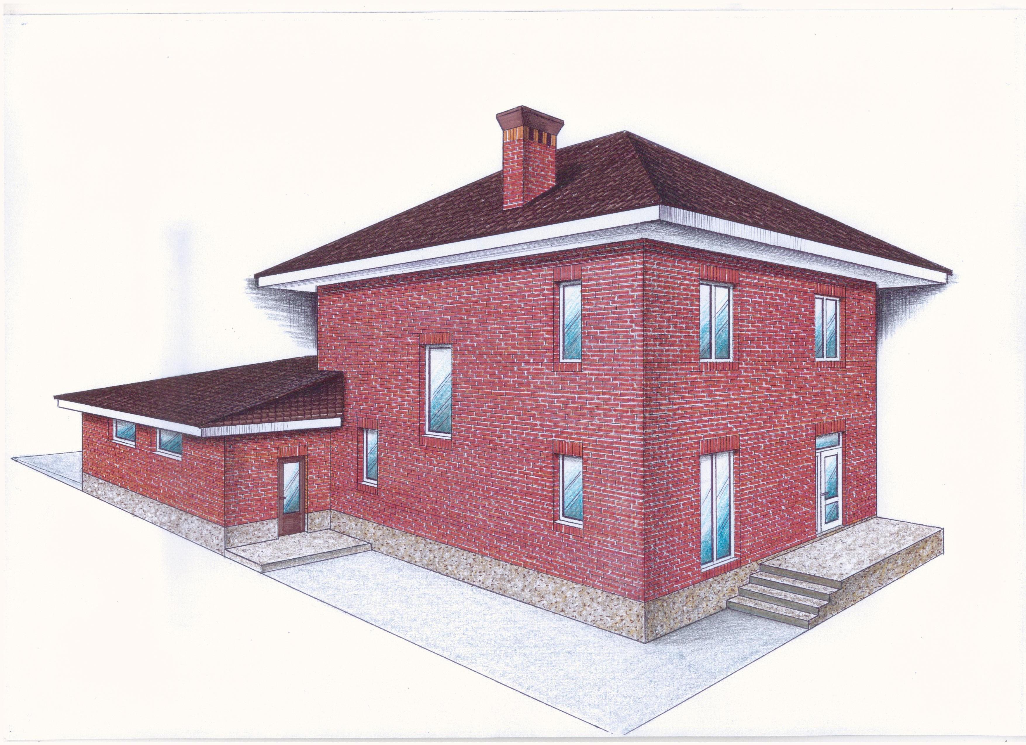 """Проект """"Иж-405"""" фасад"""