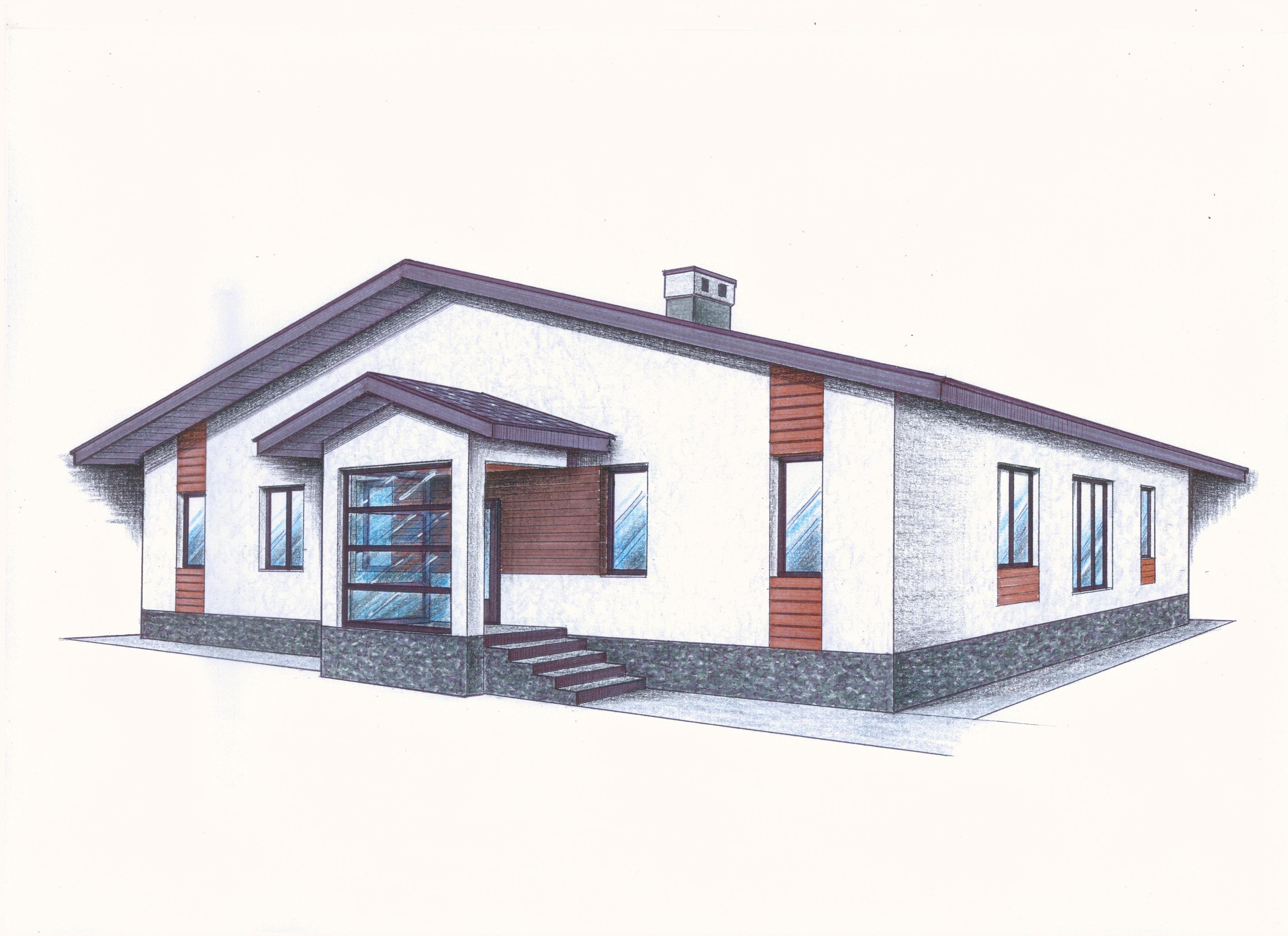 """Проект """"Иж-413"""" фасад"""