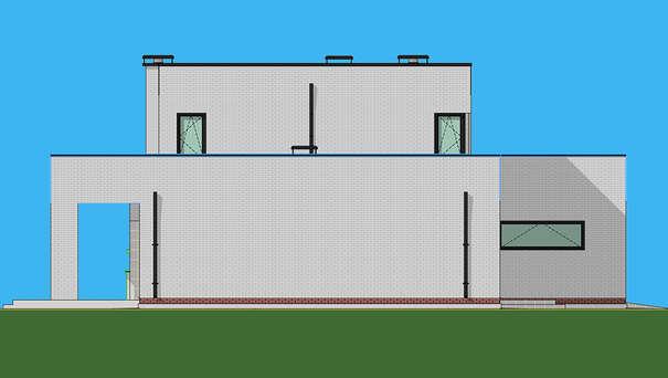 Проект дома 4m1468 фасад
