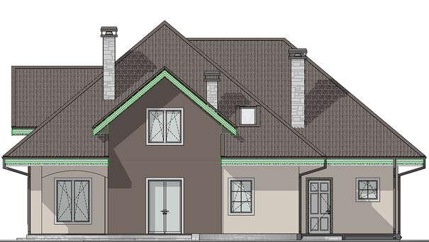 Проект дома 4m1459 фасад