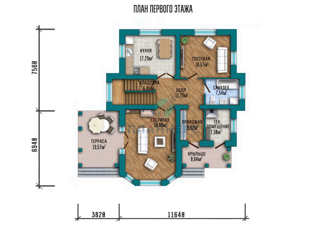 Проект Планнерс 074-222-2 план