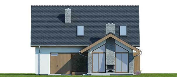 Проект дома 4m795 фасад