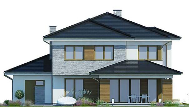 Проект дома 4m787 фасад