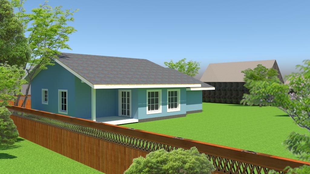 Проект СФ1 фасад