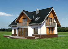 Проект дома 4m3197a фасад