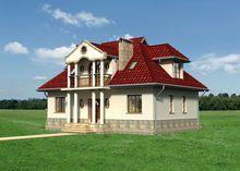 Проект дома 4m3438 фасад