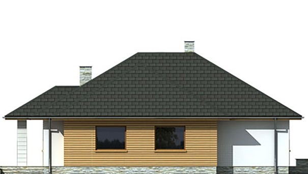 Проект дома 4m785 фасад