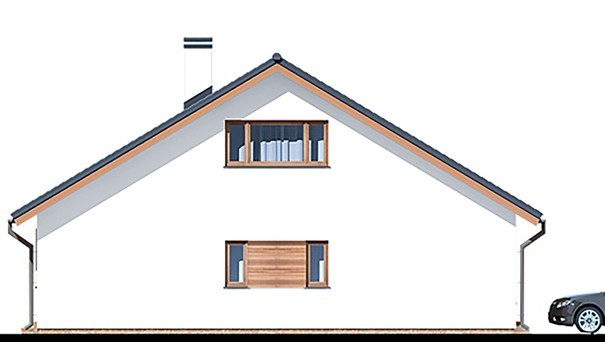 Проект дома 4m783 фасад
