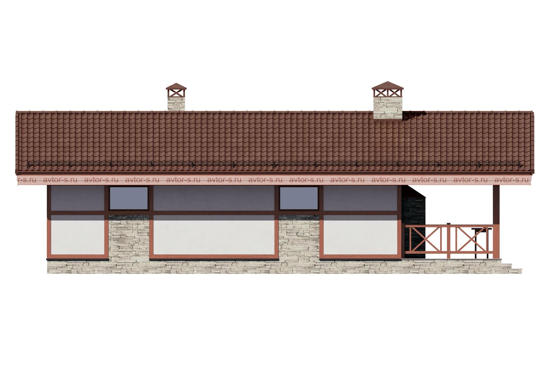 AV328 фасад