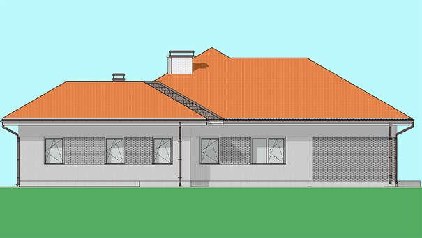 Проект дома 4m1456 фасад