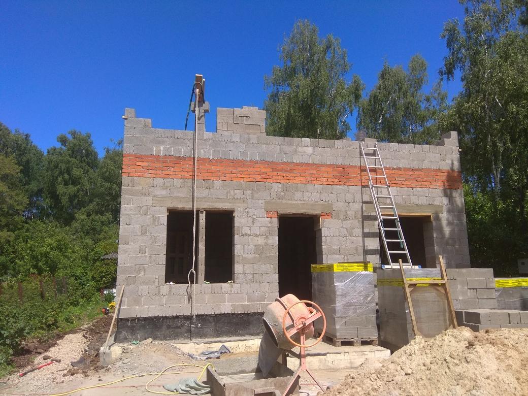 Готовый проект дома 167 кв.м // Артикул СМ-119 фасад