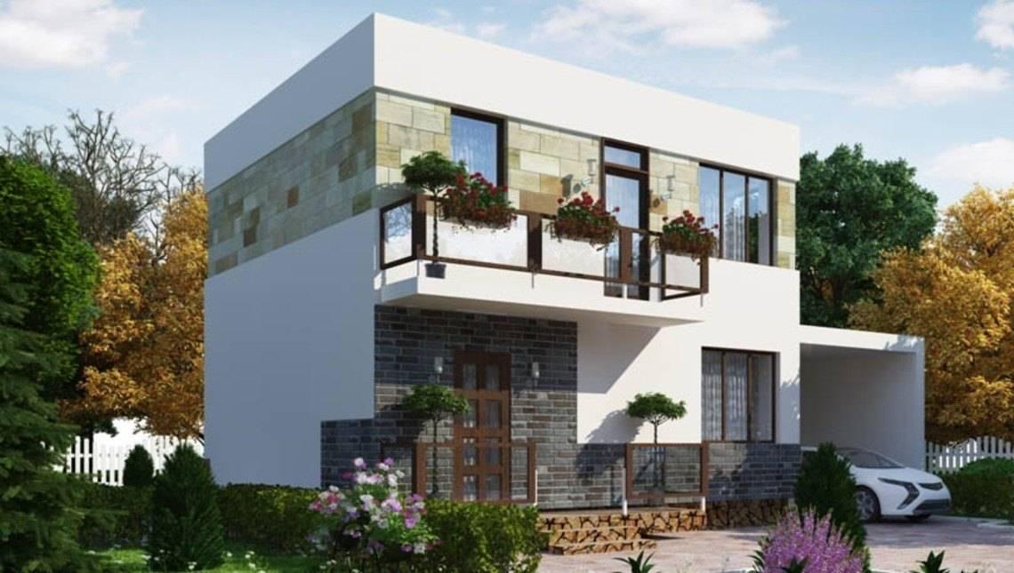 Проект дома 4m848 фасад