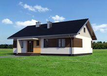 проект дома 4m3613b фасад