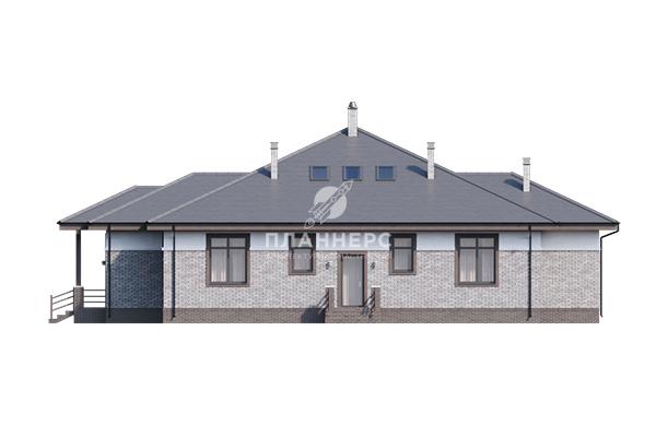 Проект Планнерс 091-339-1М фасад