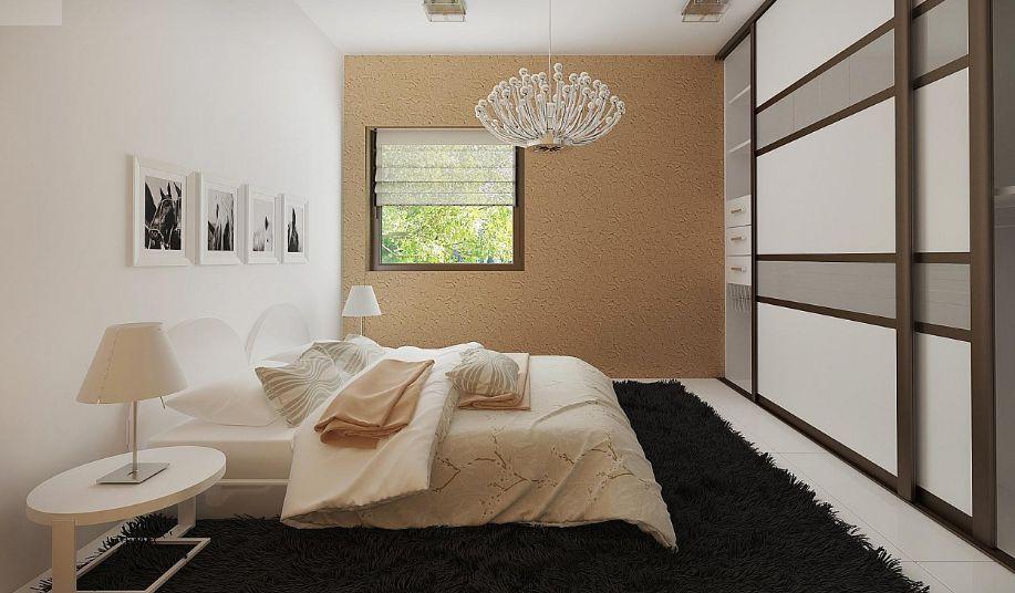 Готовый проект дома 42 кв.м // Артикул R-44 план