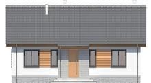 Проект дома 4m254 фасад