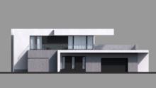 Проект дома 4m709 фасад