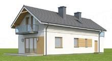 Проект дома 4m740 фасад