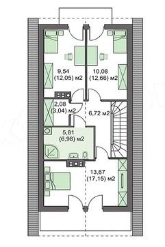 Проект дома 4m740 план