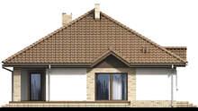 Проект дома 4m599 фасад