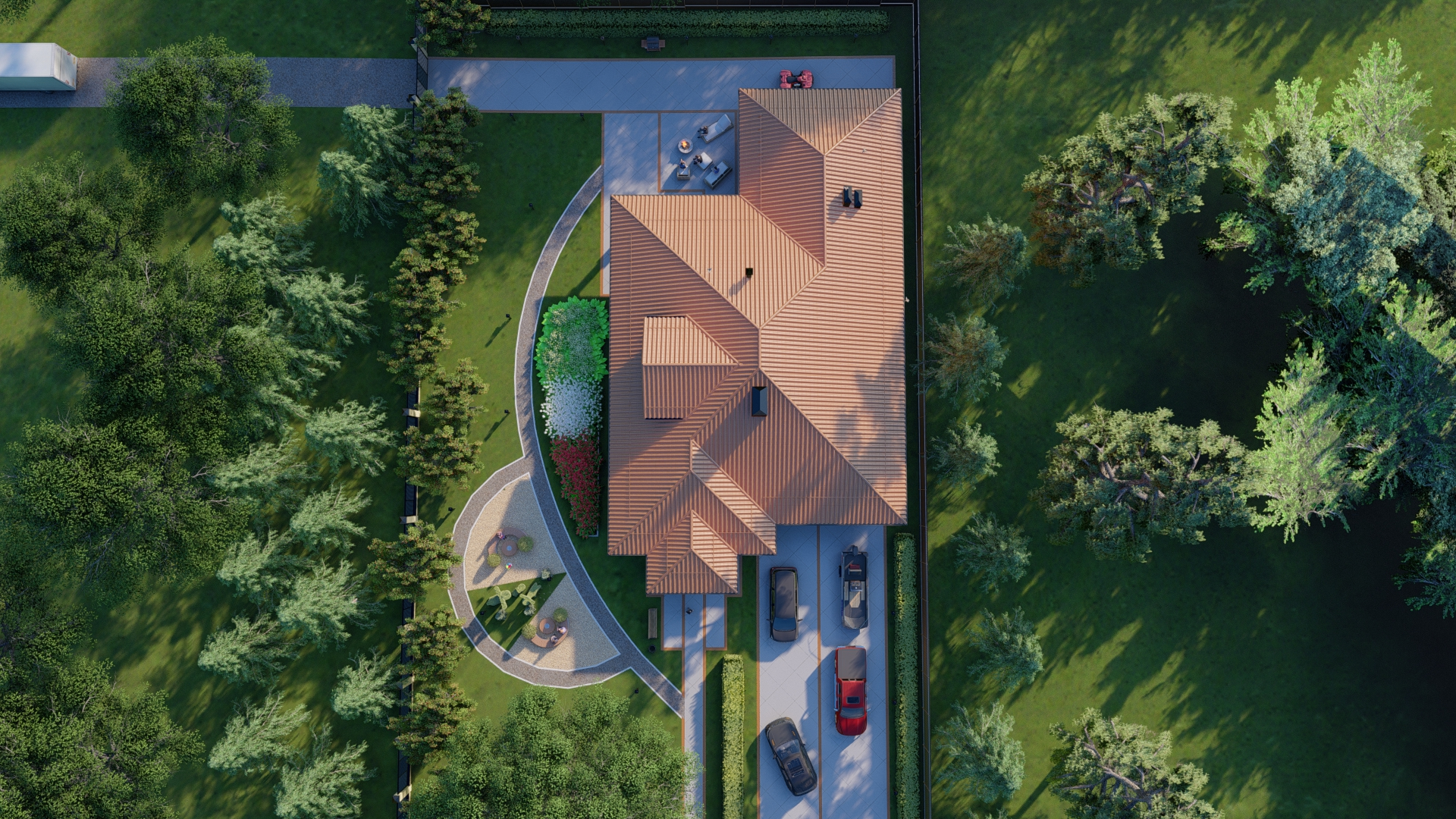 Проект дома А 380 фасад
