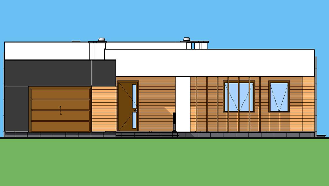 Проект дома 4m1495 фасад