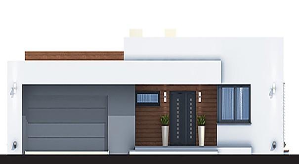 Проект дома 4m7128 фасад